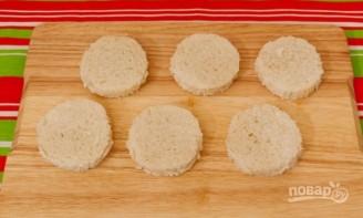Бутерброды с семгой и красной икрой - фото шаг 1