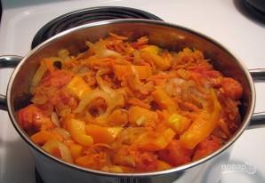 Тушеная говядина с морковью - фото шаг 7