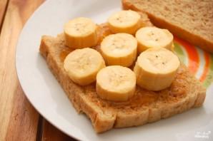Бутерброд с арахисовым маслом - фото шаг 3