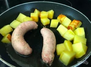 """Мексиканский завтрак """"Одна сковородка"""" - фото шаг 1"""