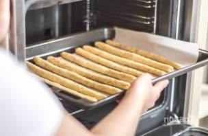 Хлебные палочки без дрожжей - фото шаг 4