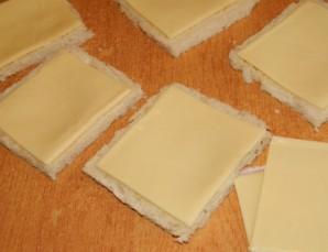 Бутерброды с плавленым сыром   - фото шаг 2