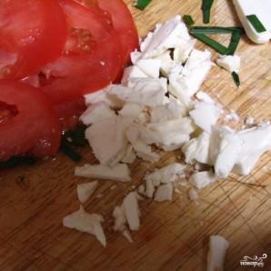 Средиземноморский салат - фото шаг 2