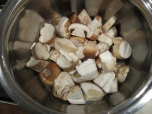 Маринованные белые грибы для супа - фото шаг 1