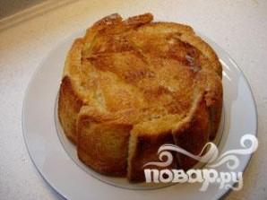 Яблочная шарлотка с хлебом - фото шаг 8