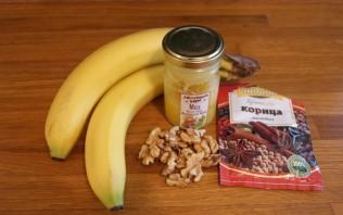 Печеный банан с медом - фото шаг 1
