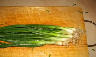 Маринованный зеленый лук на зиму - фото шаг 1