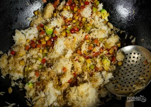 Рис с овощами по-китайски - фото шаг 4