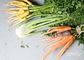 Полента с овощами - фото шаг 1