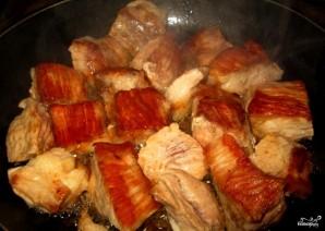 Говядина с гречкой в горшочке - фото шаг 2