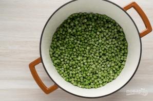 Суп-пюре из горошка и нута - фото шаг 2