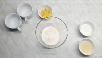 Кокосово-лимонный кекс в микроволновке - фото шаг 1
