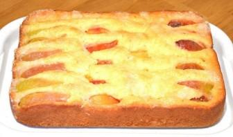 Безумно вкусный и простой пирог с фруктами - фото шаг 5