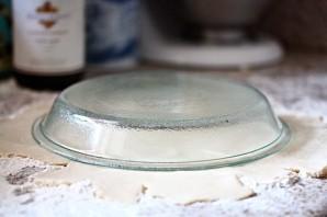 Персиковый пирог из песочного теста - фото шаг 9