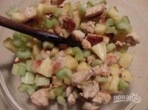 """Салат """"Курица с ананасом"""" - фото шаг 8"""