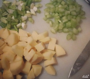 Суп из скумбрии - фото шаг 2