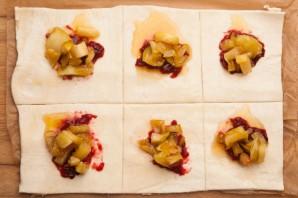 Пирожки в духовке сладкие - фото шаг 4