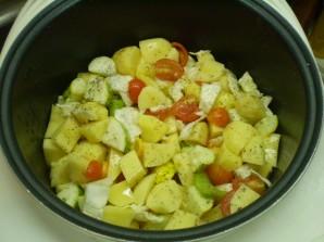 Тушеные овощи кусочками - фото шаг 4