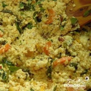 Тофу с овощами - фото шаг 7