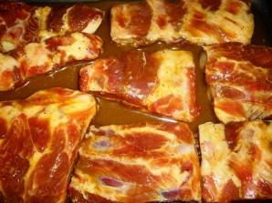 Свиные ребрышки с медом - фото шаг 3