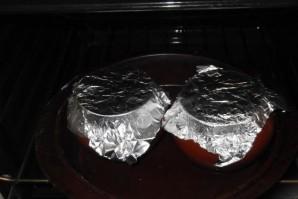 Тыква в горшочке в духовке - фото шаг 8