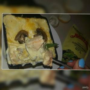 """Лучший рецепт """"А-ля жульена"""" с лососем и майонезом """"Махеевъ"""" - фото шаг 6"""