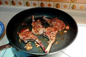 Баранья корейка на кости - фото шаг 2