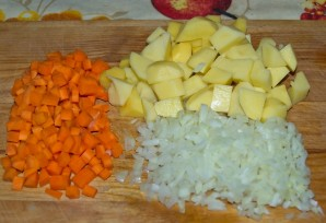 Суп из баранины с рисом - фото шаг 2