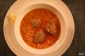 Рисовый суп с фрикадельками  - фото шаг 4