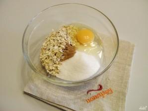 Овсяное печенье с творогом - фото шаг 1