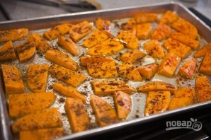 Запеченный сладкий картофель - фото шаг 2