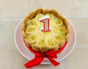 Торты на день рождения мальчику (1 год) - фото шаг 5
