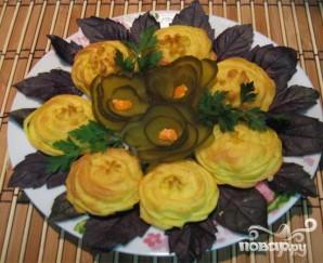 Картофельные цветочки - фото шаг 6