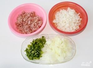 Тефтели с рисом жареные - фото шаг 1