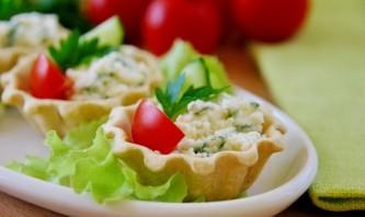 Тарталетки с сырной начинкой - фото шаг 4