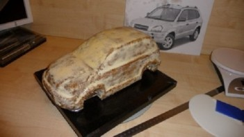 """Торт """"Автомобиль"""" - фото шаг 6"""
