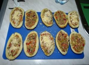 Ароматный запеченный фаршированный картофель - фото шаг 12