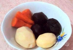 Селедка с картофельной начинкой - фото шаг 1