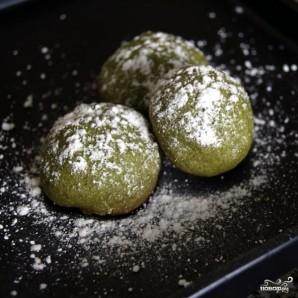 Печенье с зеленым чаем - фото шаг 11