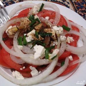 Средиземноморский салат - фото шаг 6