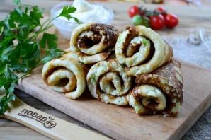 Блинчики из кабачков с сыром и чесноком - фото шаг 7