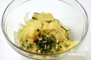 Салат с дайконом - фото шаг 3