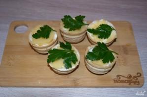 Тарталетки с икрой и сливочным сыром  - фото шаг 5