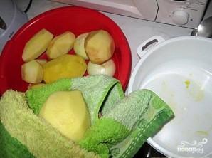 Картофель в казане - фото шаг 3