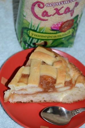 Пирог с яблочным повидлом - фото шаг 3