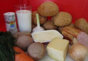 Суп в буханке хлеба - фото шаг 1