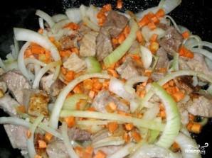 Свинина с болгарским перцем - фото шаг 2