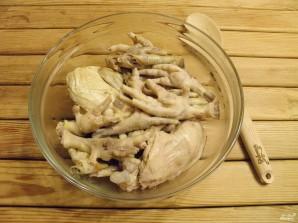 Холодец из куриных лапок - фото шаг 7