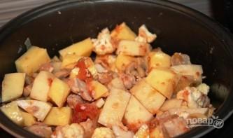 Картофель с мясом - фото шаг 7