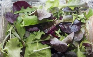 Овощной салат с креветками - фото шаг 4